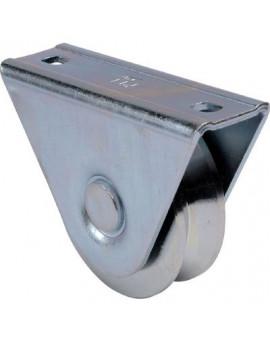 Roue support extérieur gorge triangulaire - Torbel Industrie