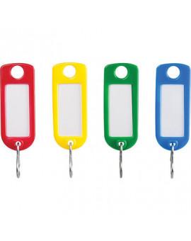 Porte-étiquette plastique à fenêtre - Séléction BricoBati - 100