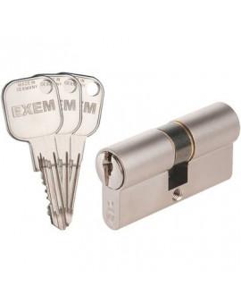 Cylindre 2 entrées EXEM F9 Nickelé varié - Iséo