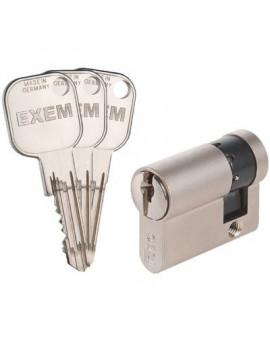 Demi-cylindre EXEM F9 Nickelé varié - Iséo