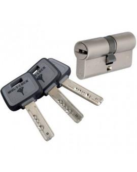 Cylindre 2 entrées MT5 Varié Nickelé - Mul-T-Lock