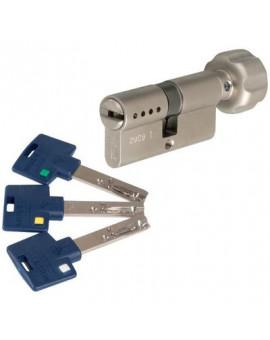 Cylindre à bouton INTERACTIVE+ Varié Nickelé - Mul-T-Lock