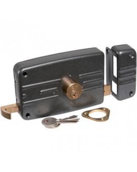 Serrure horizontale de sûreté à tirage City 5G - Iséo