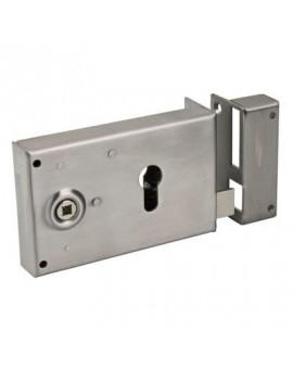 Serrure de sûreté horizontale à fouillot POILLY - Devismes