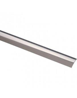 Bande de seuil Acier inox poli largeur 30 mm - Profilpas