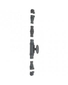 Crémone type RY 59 à bouton peint série forte - Torbel Industrie